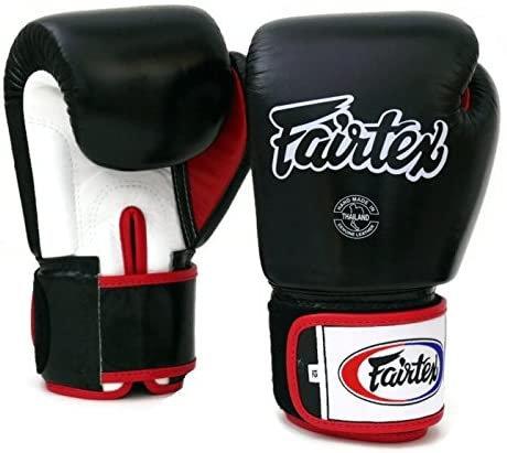 Boxing Glove Fairtex BGV1(Black/White/Red) 12ozs