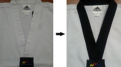 Martial Arts Uniform & Belt Alteration