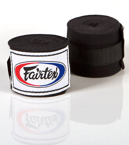 Handwraps Fairtex (Black)