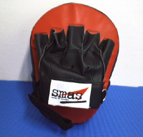 Coaching Mitt Curve Leather