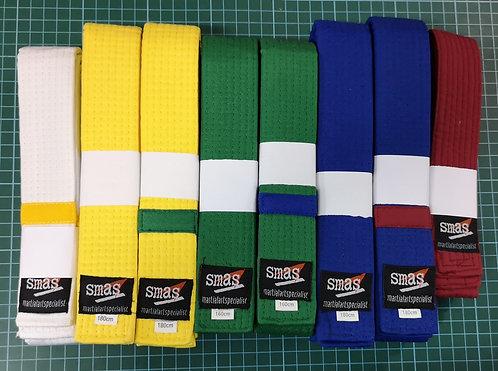 Taekwondo One Round Belt
