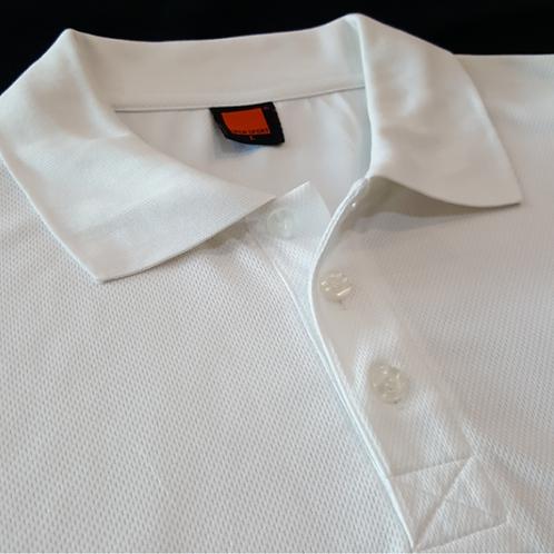 T-Shirt Quick dry Collar (White)