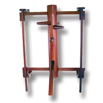 Wooden Dummy Wall Mounted