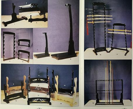 Wooden Sword Stand (Display)