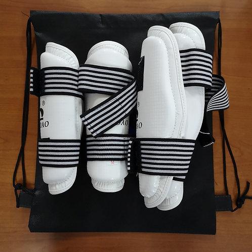 Shin+Forearm Guard Combo Set PU