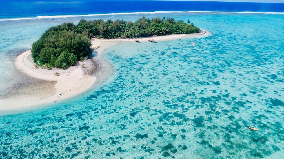 Mini Island Opposite Muri Shores