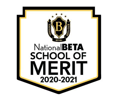 National Beta School of Merit Badge 2020