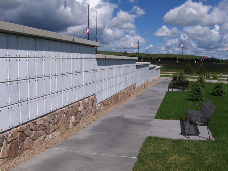 Black Hills National Cemetery Columbarium in Sturgis, SD