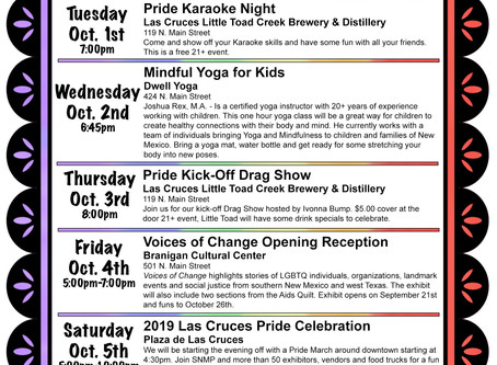 Events leading up to Pride