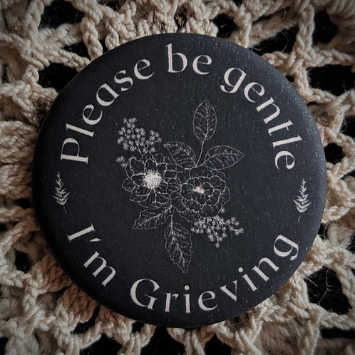 Grieving Pin ~ Flowers