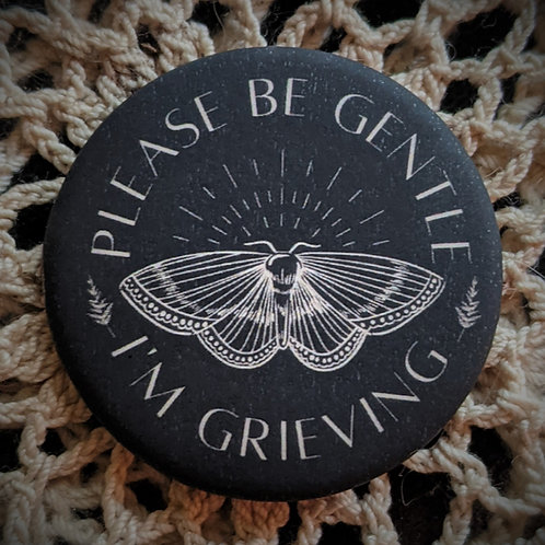 Grieving Pin ~ Moth