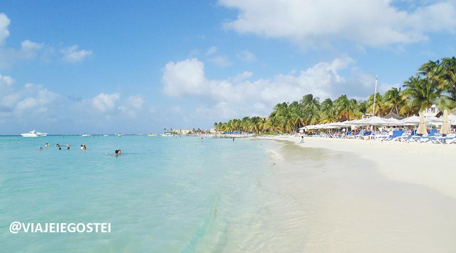 Isla Mujeres - Crédito: Viajei e Gostei
