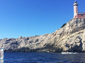 Bate-volta em Capri: conhecendo a ilha de barco