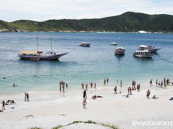 Arraial do Cabo e suas praias que lembram o Caribe