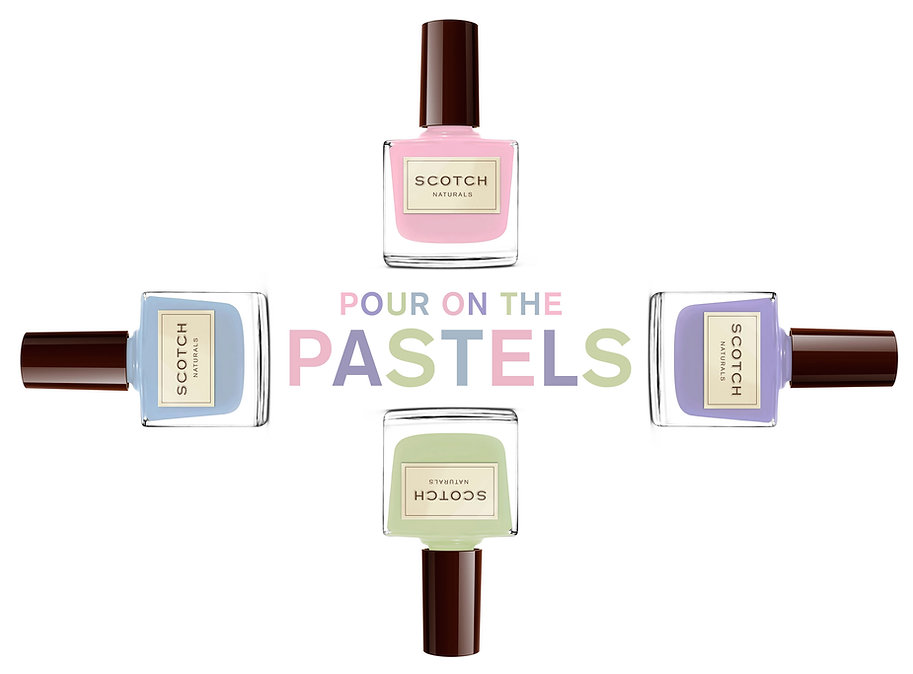 Scotch Naturals Pastels | Spring Collection