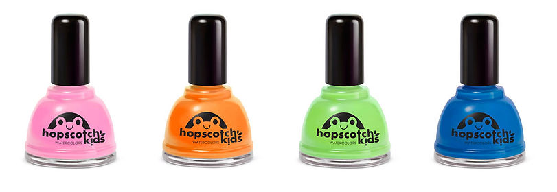 Hopscotch Kids Nail Polish Packaging