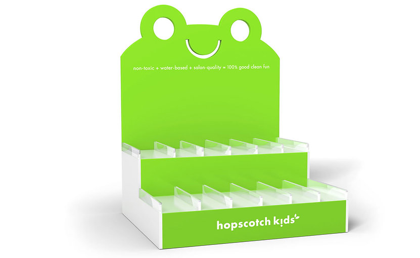 Hopscotch Kids Retail Display