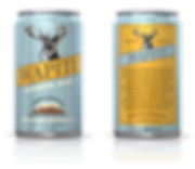 Mogollon Brewing Co. Wapiti Amber Ale Can Design