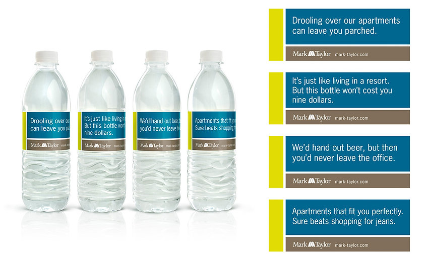 Mark-Taylor Residential Water Bottles