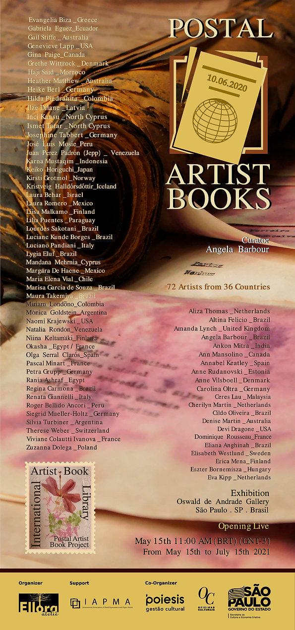 _Postal Artist Books - Newsletter - curv