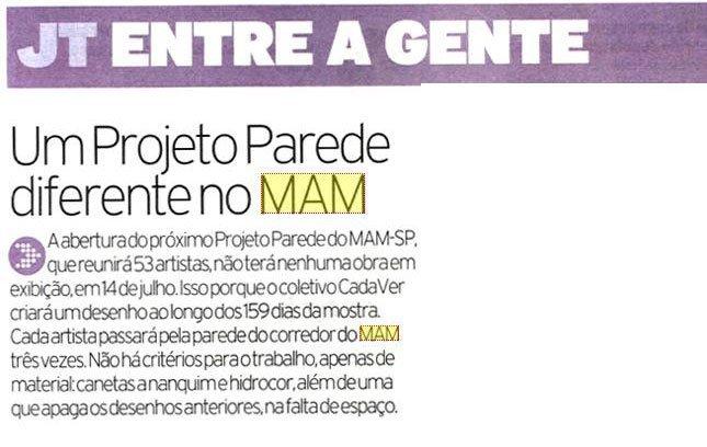 Reportagem no Jornal da Tarde