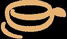 CoffeeApple Cafe Coffee Logo