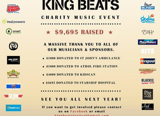 KING BEATS - Charity music event