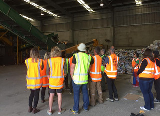 Envision  - South Island Resource Recovery tour