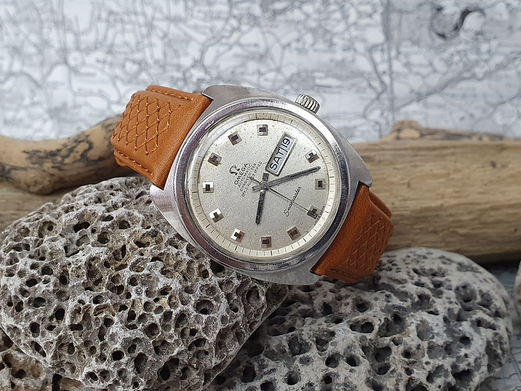 Vintage Omega Seamaster Automatic day date ref 168.034