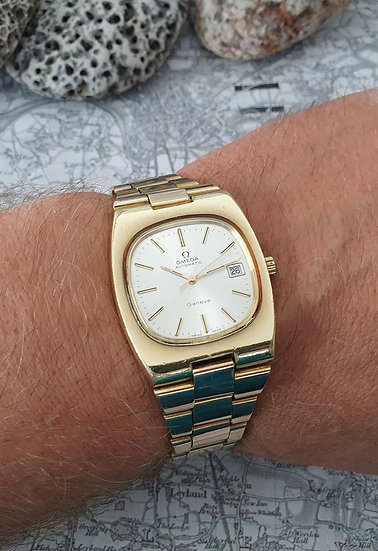 Chunky Vintage Omega Geneve Automatic ref 166.0191 / 366.0835 cal1012.