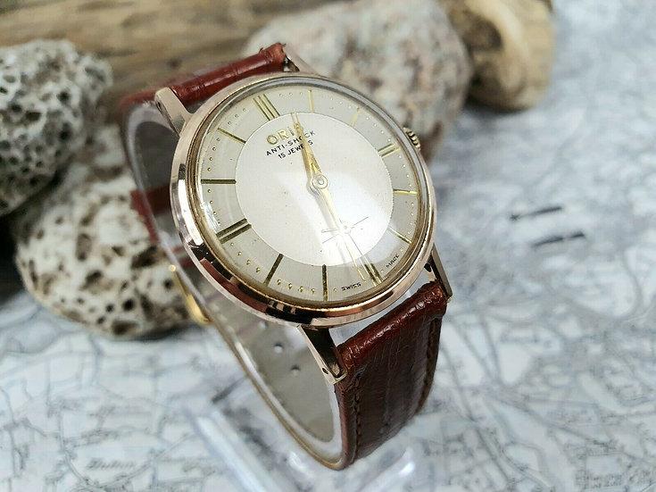 Very Fine Vintage Oris Gentleman's Wristwatch