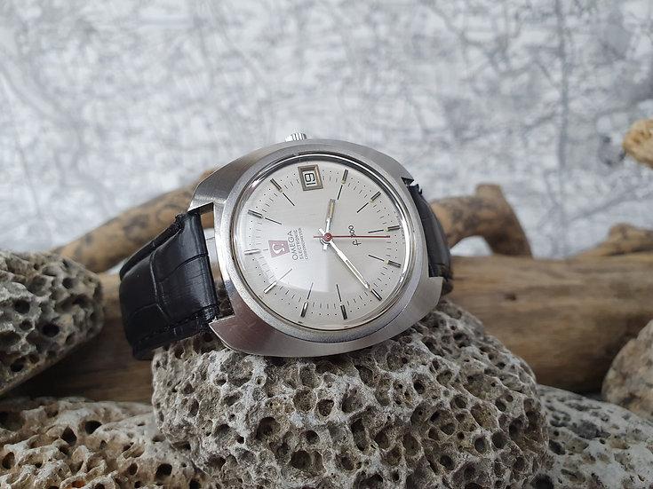 Omega F300 chronometer electronic gentleman's wristwatch, ref 198.030