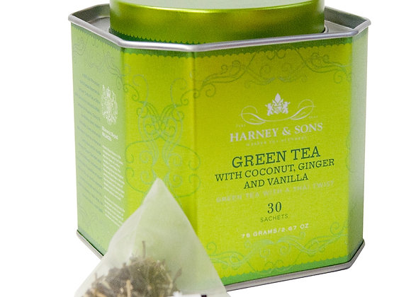 Harney & Sons Bangkok Green Tea 30 Bags
