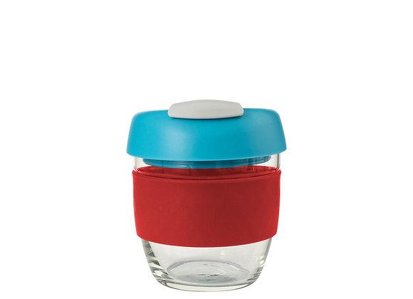 Avanti Glass GoCup 236ml Red/Aqua/Grey