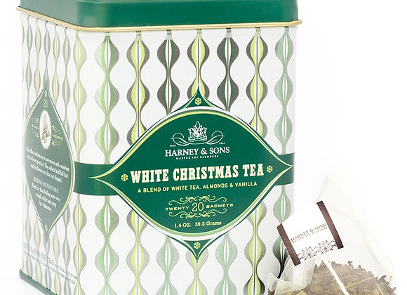 Harney & Sons White Christmas Tea 20 Bags in Tin