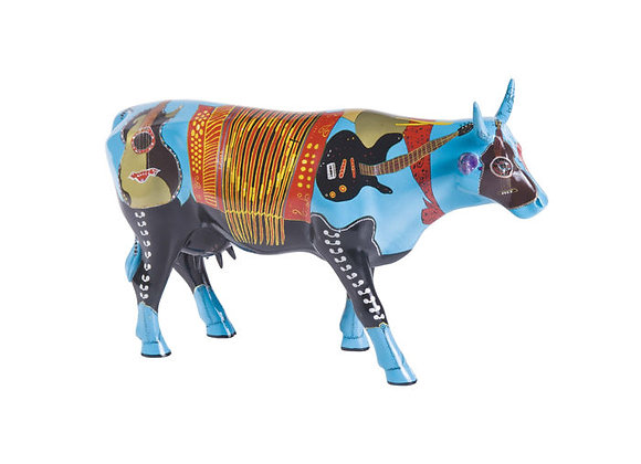 Cow Parade - CowJunto Music Large Resin