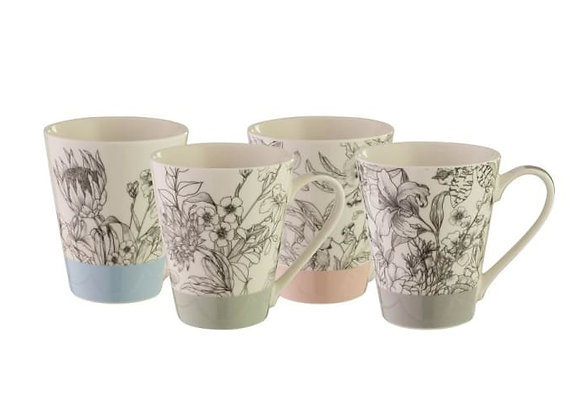 Bundanoon Artisan Mug Set 400ml