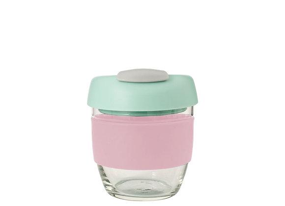 Avanti Glass GoCup 236ml Pink/Mint/Grey