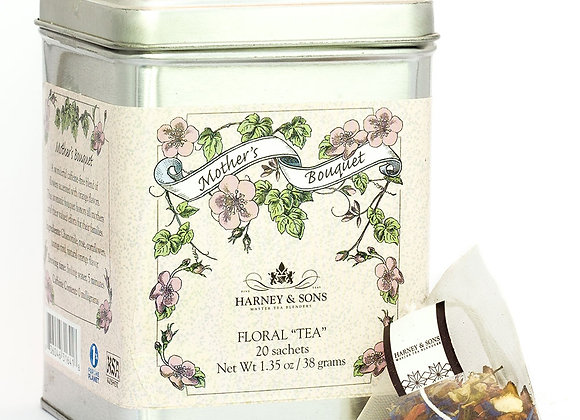 Harney & Sons Mothers Bouquet 20 Bags in Tin