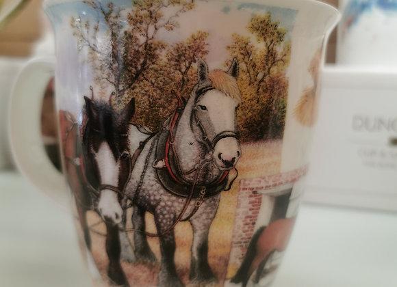 Dunoon Mug Nevis 'Horse' 0.48L