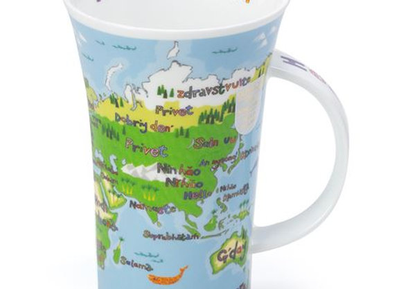 Dunoon Mug Glencoe ' Hello World ' 0.5L