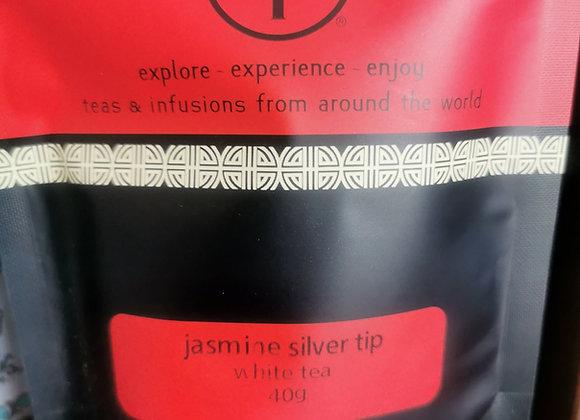 Jasmine Silver Tip White T Leaf T 40grams Loose