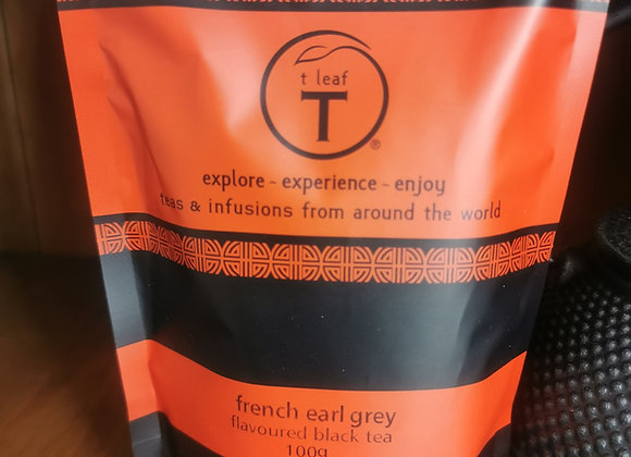 French Earl Grey T Leaf T 100grams Loose