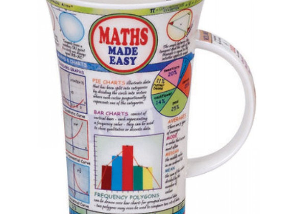 Dunoon Mug Glencoe ' Maths Made Easy '