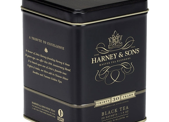 Harney & Sons 30th Anniversary Tea 20 Bags in Tin