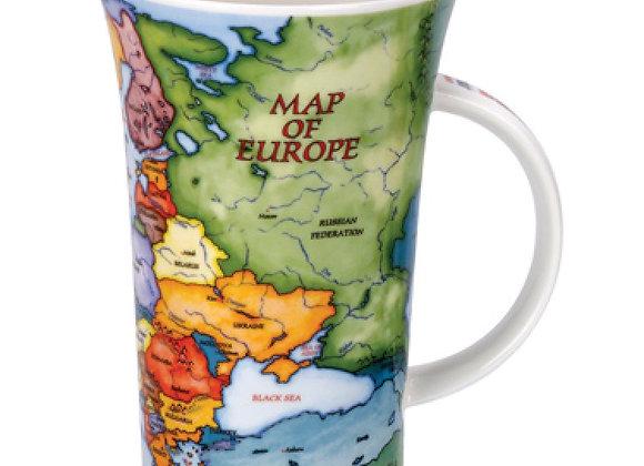 Dunoon Mug Glencoe ' Map of Europe '