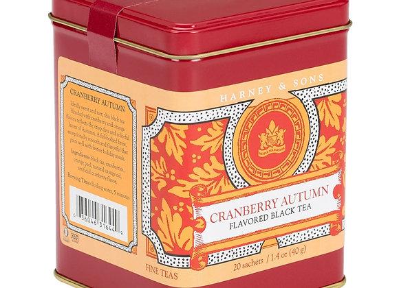 Harney & Sons Cranberry Autumn Tea 20 Bags