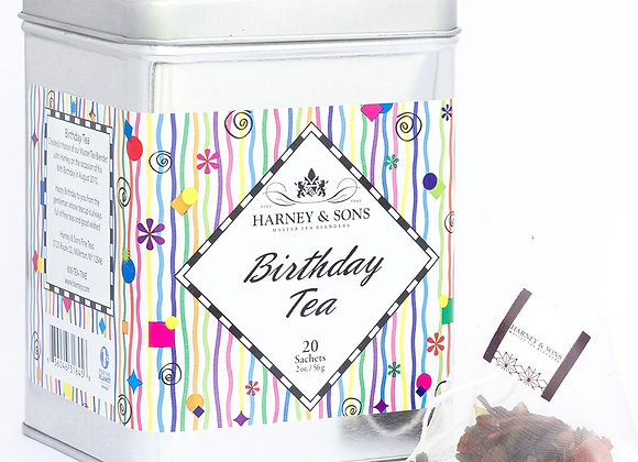 Harney & Sons Birthday Fruit Tea 20 Bags in Tin