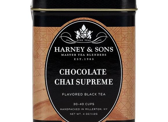 Harney & Sons Chocolate Chai Supreme 4oz Loose Tea