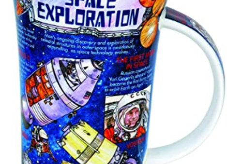 Dunoon Mug Glencoe ' Space Exploration ' 0.5L